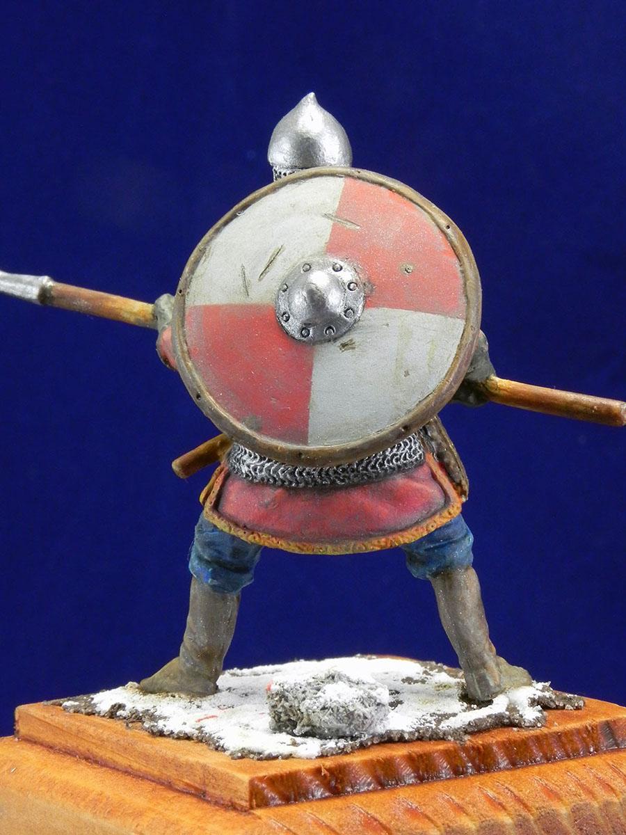 Новгородский дружинник, XIII век 10510