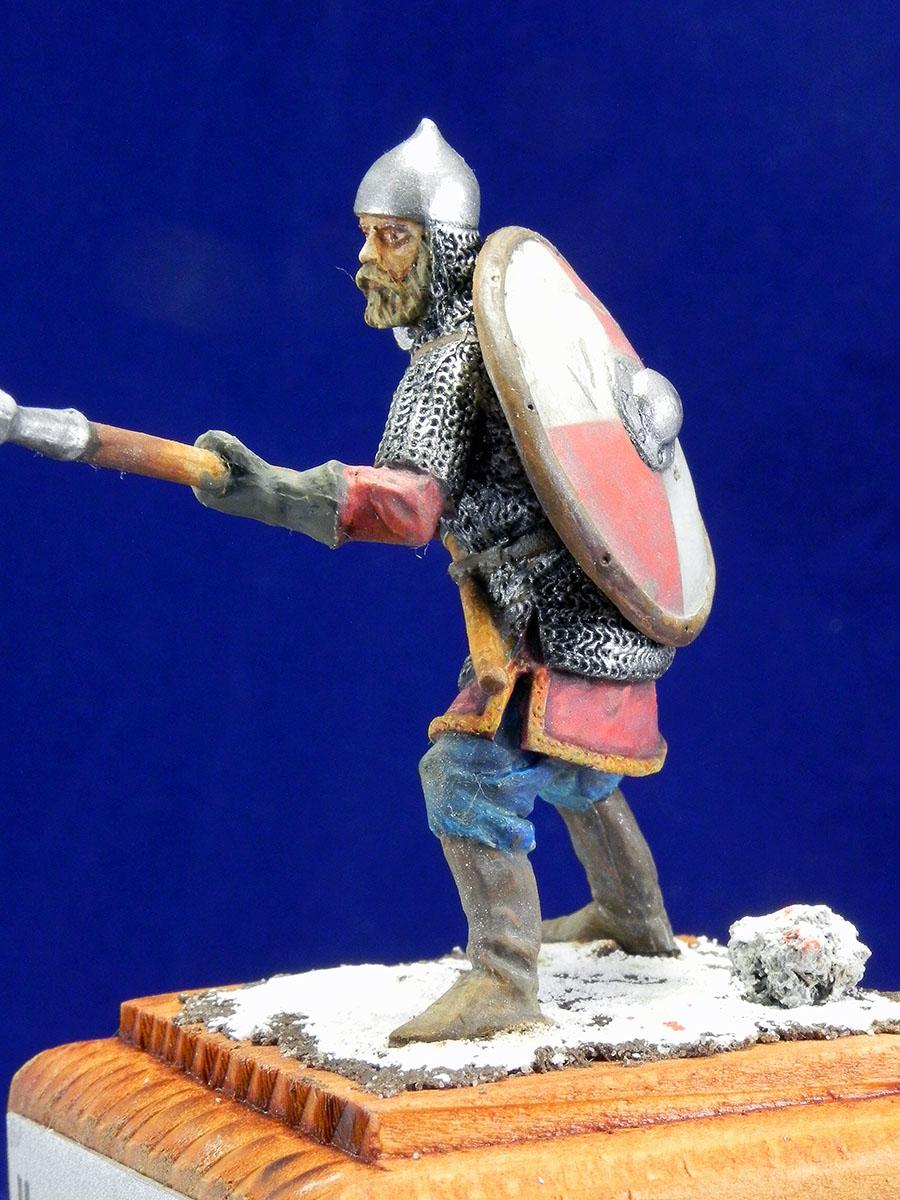 Новгородский дружинник, XIII век 10610