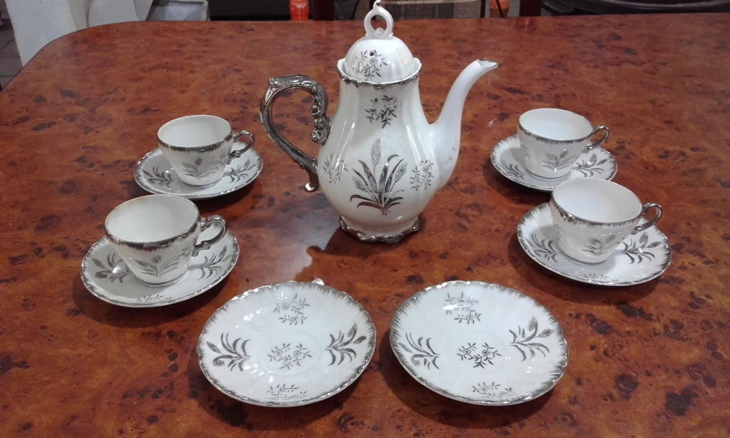 Vendo juego de té musical, de porcelana japonesa 20191110
