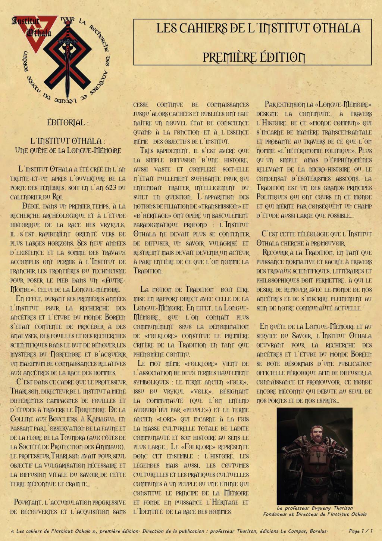 Les cahiers de l'Institut Othala  01_les11
