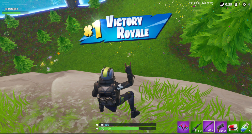 First Season 10 Victory on the board Victor10