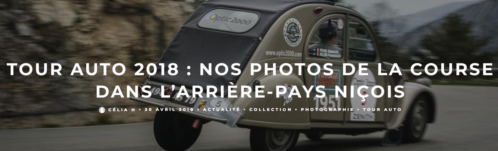 Tour Auto 2018 sur les routes de l'arrière pays Niçois Captur10