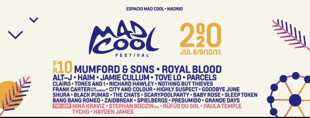 Mad Cool 2020 // Mumford and Sons, Royal Blood, Waxahatchee, The Last Internationale, Shura, The Chats,... - Página 4 22515a10
