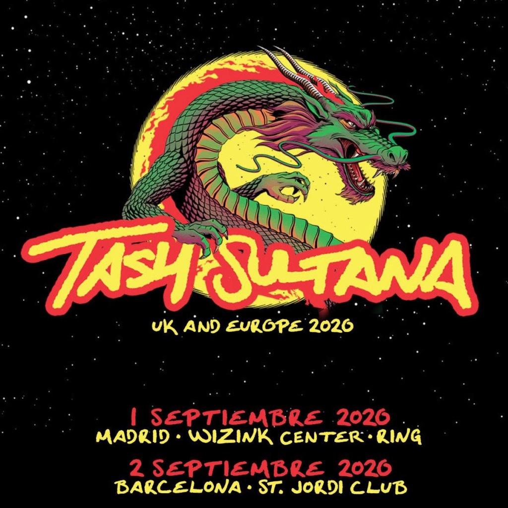 Tash Sultana ... septiembre 2020 Madrid - Barcelona Baa5c410