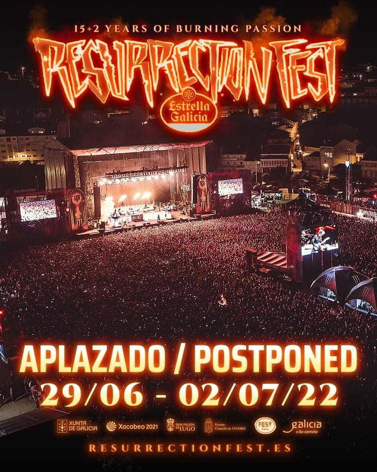 Resurrection Fest Estrella Galicia 2021. (2 - 5 Junio) System of a Down, Deftones, KoRn - Página 9 Efb22c10