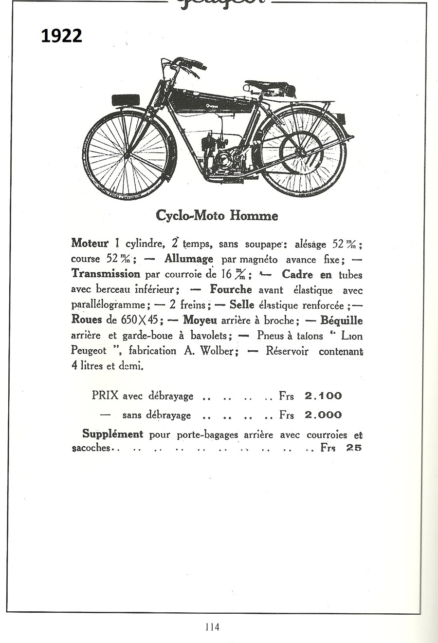 La Peugeot Cyclomoto de dom54 Numzor14