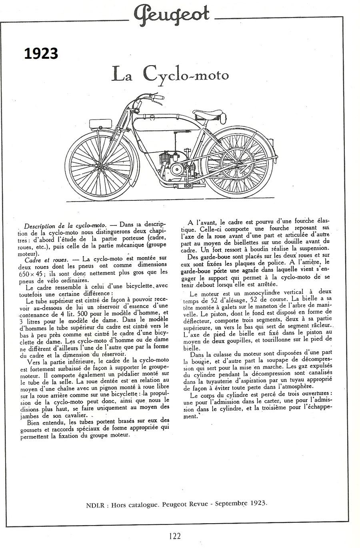 La Peugeot Cyclomoto de dom54 Numzor18