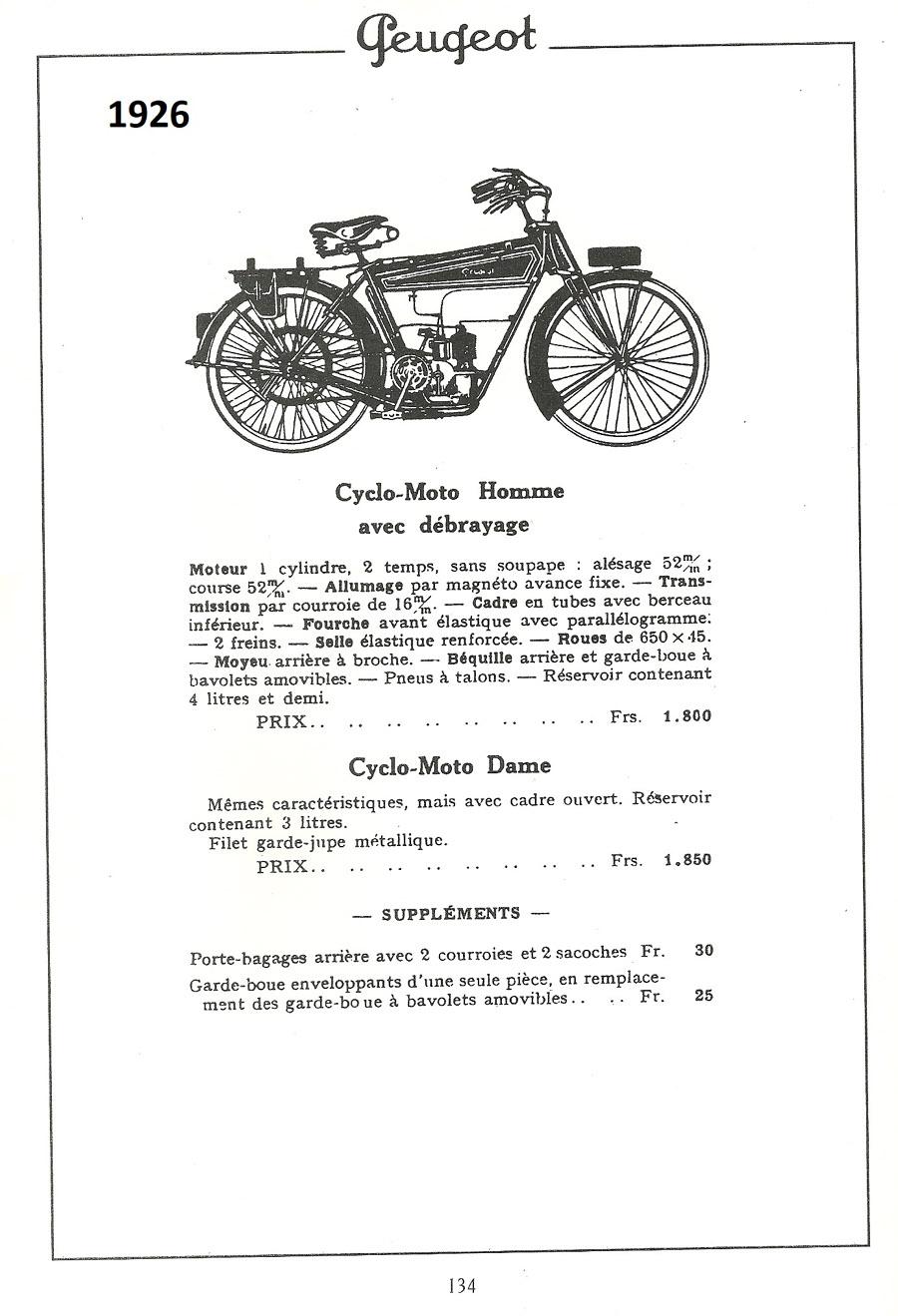La Peugeot Cyclomoto de dom54 Numzor21