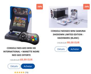 Neo-Geo & SNK - Les petites actualités Captu100