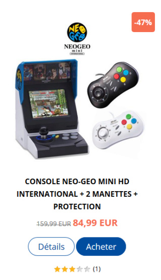 Neo-Geo & SNK - Les petites actualités Captu101