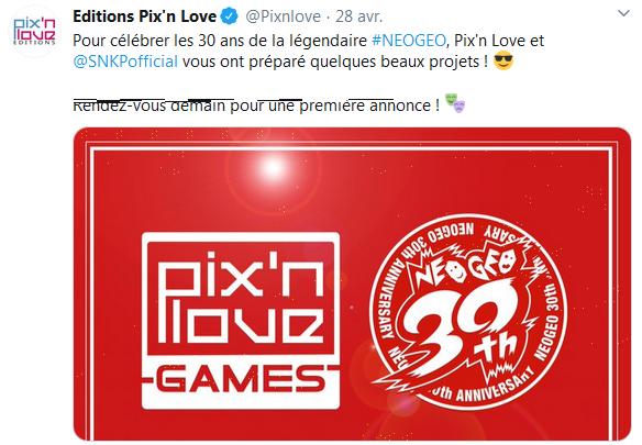 PIX'NLOVE éditera SAMURAI SHODOWN NEOGEO COLLECTION sur PS4 et Switch Captur64
