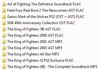 Centralisation des musiques Neo Geo & SNK (OST, AST, NGCD, etc.) - Update 05/05/2020 Ajout de 14 albums Captur70