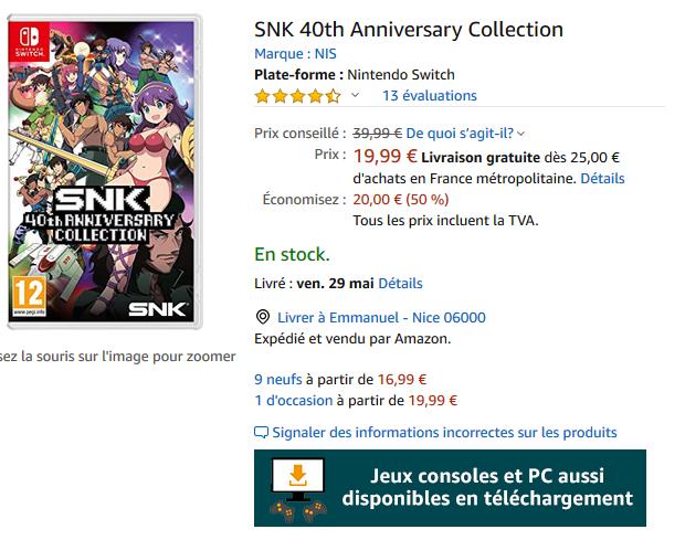 Neo-Geo & SNK - Les petites actualités Captur82
