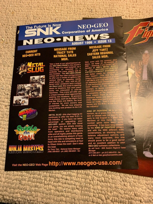 Neo-Geo & SNK - Les petites actualités Eycn9p10