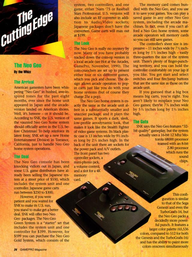 les dates de sortie de la console Neo Geo AES - Page 3 Gamepr11