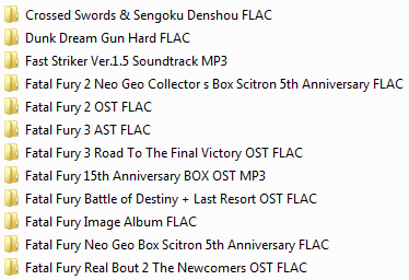 Centralisation des musiques Neo Geo & SNK (OST, AST, NGCD, etc.) Ngcd14