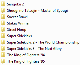 Centralisation des musiques Neo Geo & SNK (OST, AST, NGCD, etc.) Ngcd15