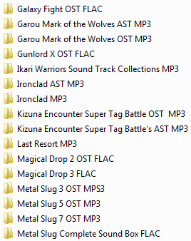 Centralisation des musiques Neo Geo & SNK (OST, AST, NGCD, etc.) Ngcd20