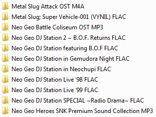 Centralisation des musiques Neo Geo & SNK (OST, AST, NGCD, etc.) Ngcd21