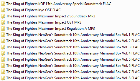 Centralisation des musiques Neo Geo & SNK (OST, AST, NGCD, etc.) Ngcd30