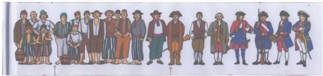 "Figurines 1/72e de chez IMEX ""American Révolution"" Numzor11"