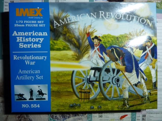 """Figurines 1/72e de chez IMEX """"American Révolution"""" P1080221"""