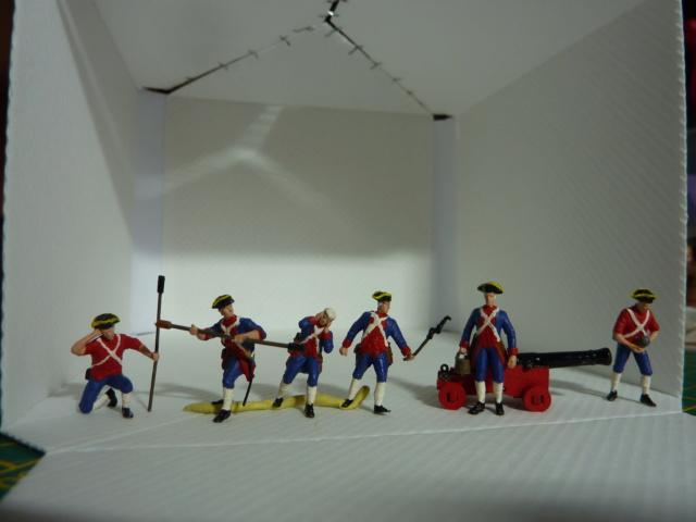 """Figurines 1/72e de chez IMEX """"American Révolution"""" P1080611"""
