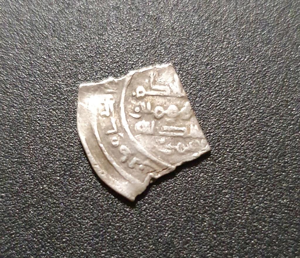 Fragmento de dírham de al-Hakam II, Medina Azahara, 351-356 H 20191110