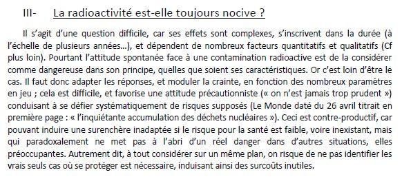 Plan national de gestion des matières et déchets radioactifs 110
