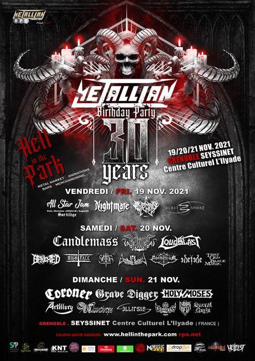 METALLIAN BIRTHDAY festival - Grenoble - 20-21-22 novembre 2021 Festiv10