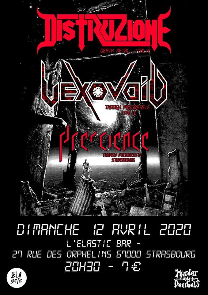 [ANNULE] Concert au Molodoï (Strasbourg) - avec Murder By Decibels asso Vexovo10