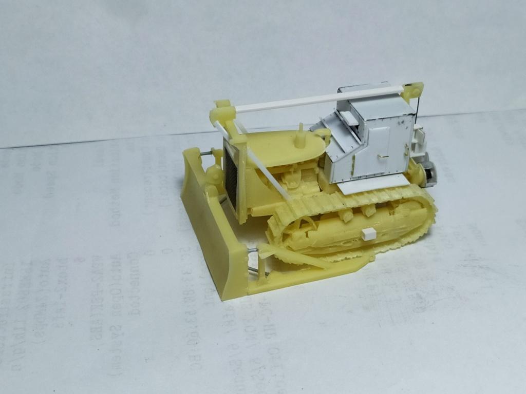Rogers 20T low bed semi remorque + M35 Prime mover + Caterpillar D7  1013