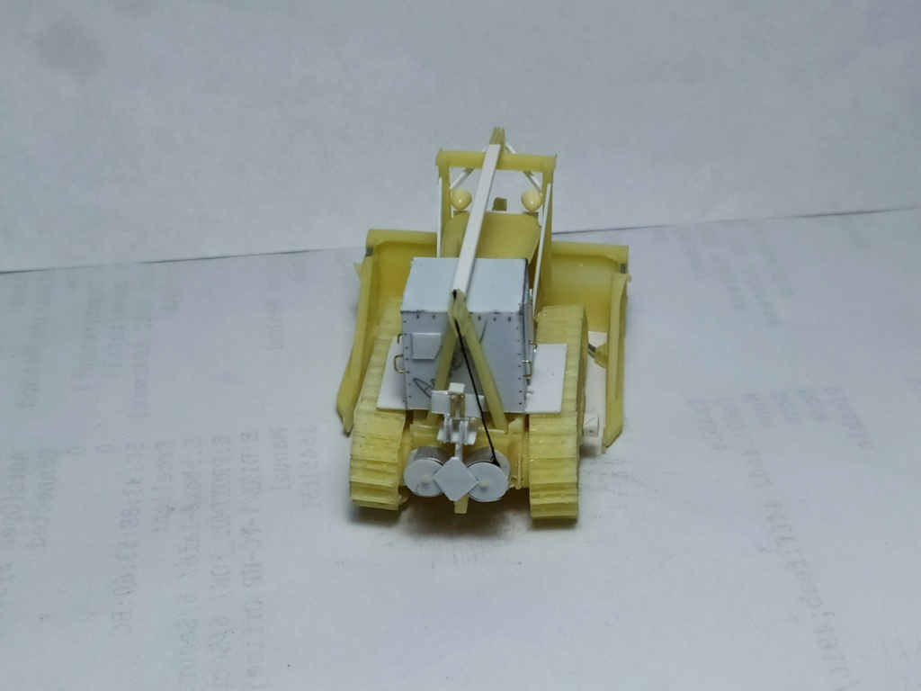 Rogers 20T low bed semi remorque + M35 Prime mover + Caterpillar D7  812