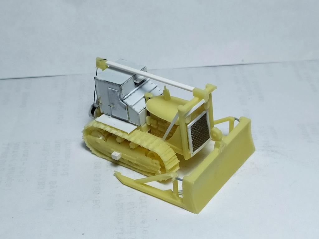Rogers 20T low bed semi remorque + M35 Prime mover + Caterpillar D7  913
