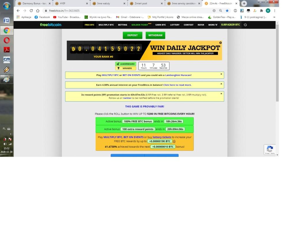 Freebit.co.in satoshi które same się zbierają za darmo Freebi12