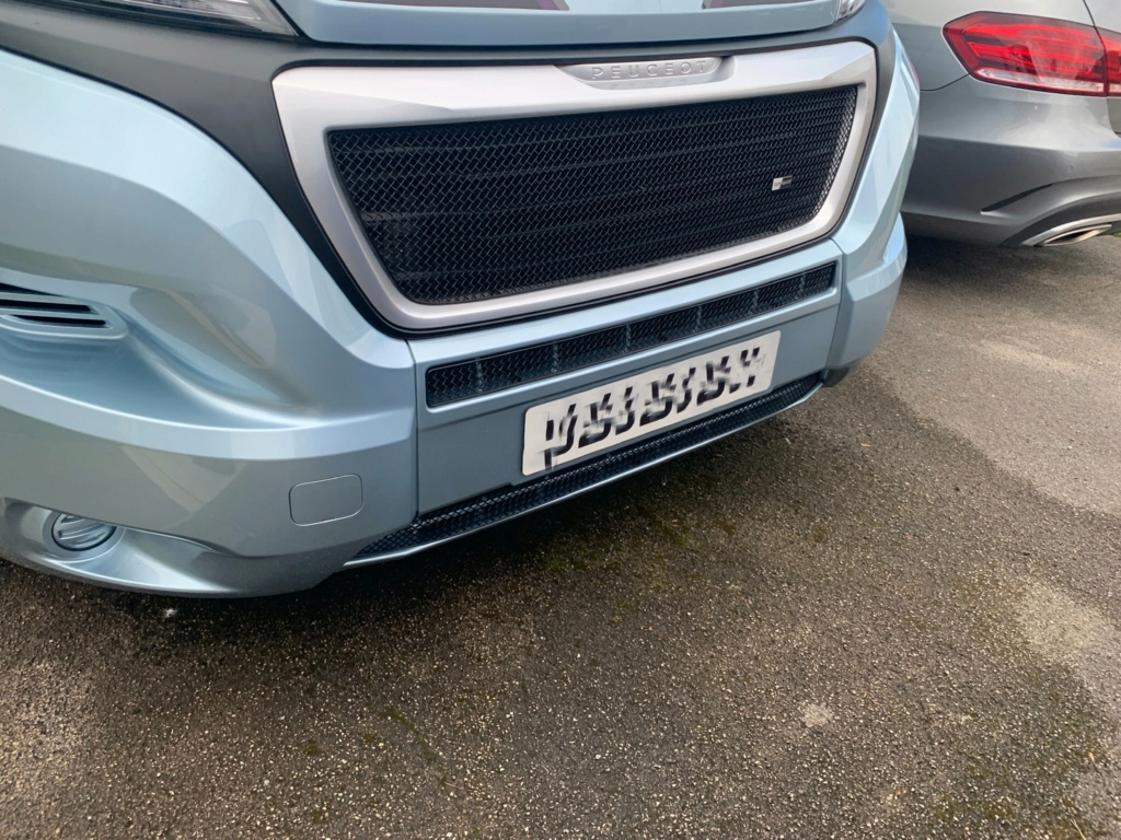 Front grill mesh  A46ba510