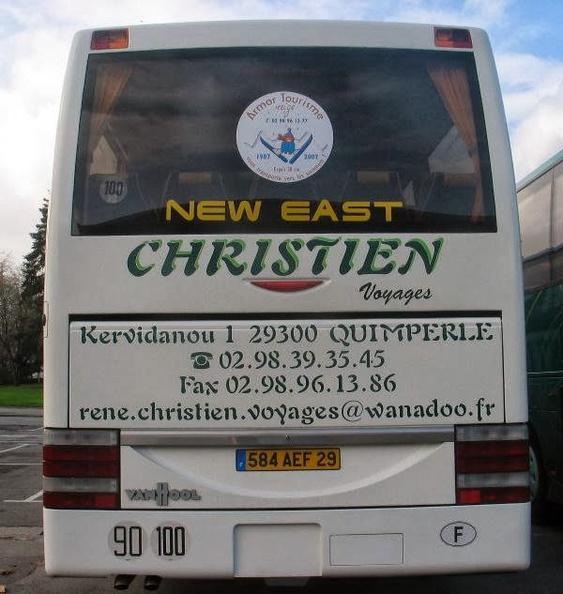 Christien Voyages 10716