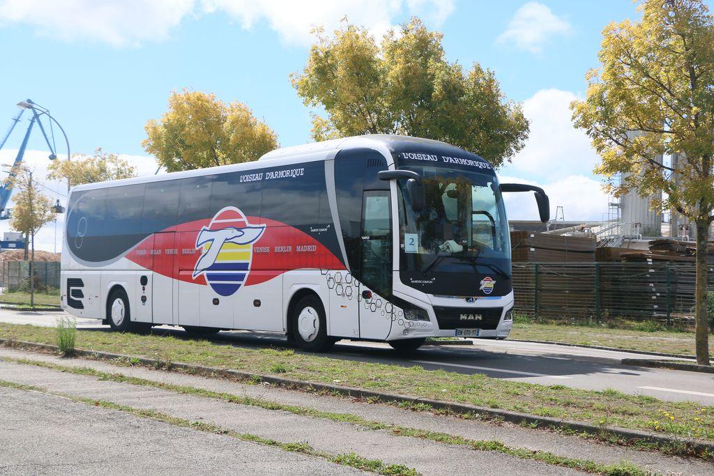 Bus et Cars ROUGÉ 8611