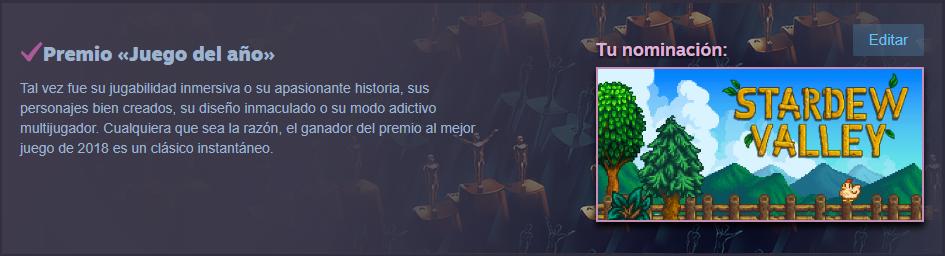 Los Premios de Steam Captur10