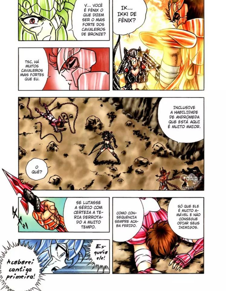 Distorção dos animes: Shun de pacifista forte para afeminado que apanha muito, a mulher  Ikki_f10