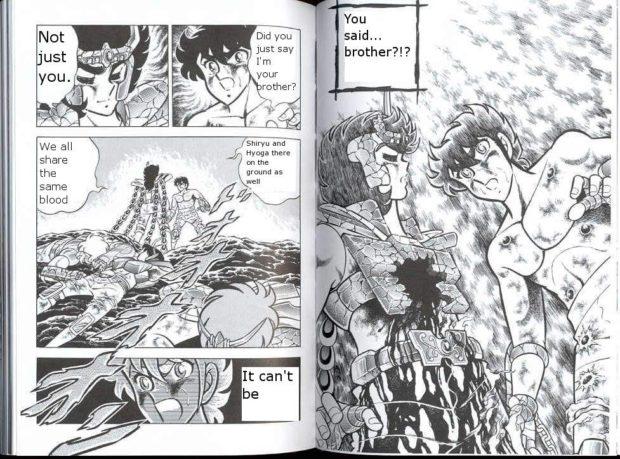 Distorção dos animes: Shun de pacifista forte para afeminado que apanha muito, a mulher  Irmzeo10
