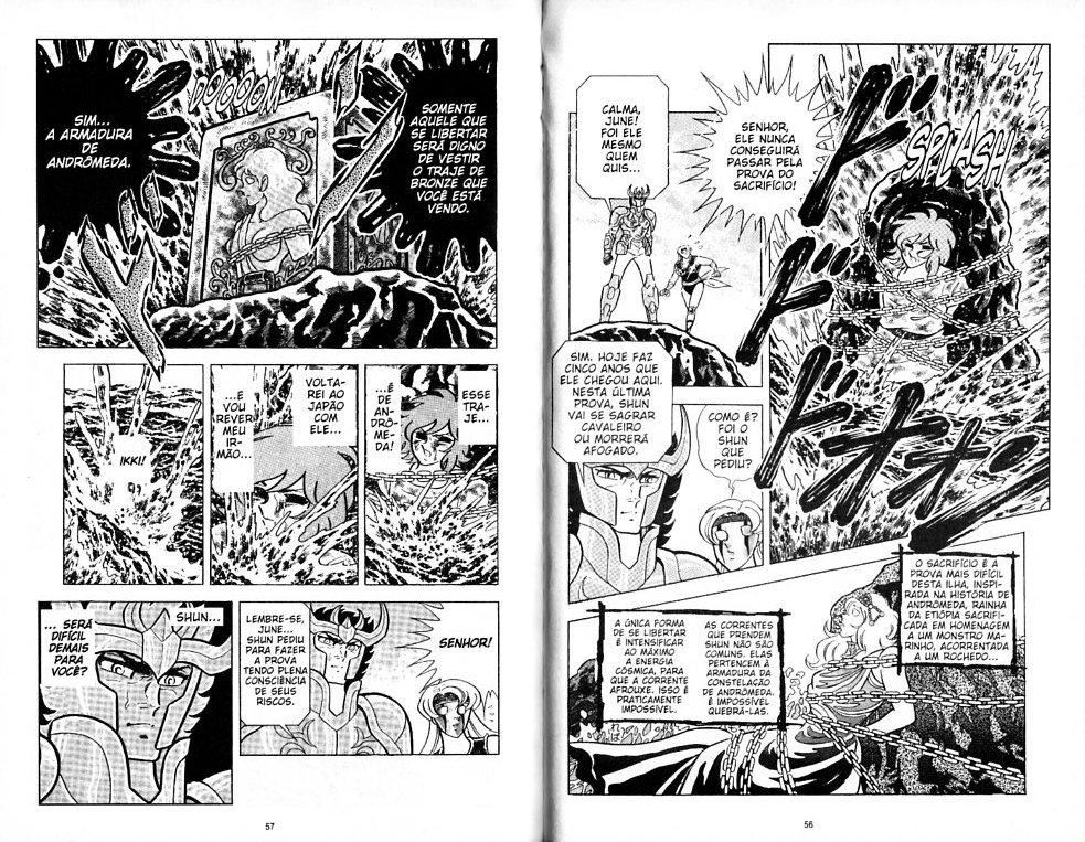 Distorção dos animes: Shun de pacifista forte para afeminado que apanha muito, a mulher  Shun_f10