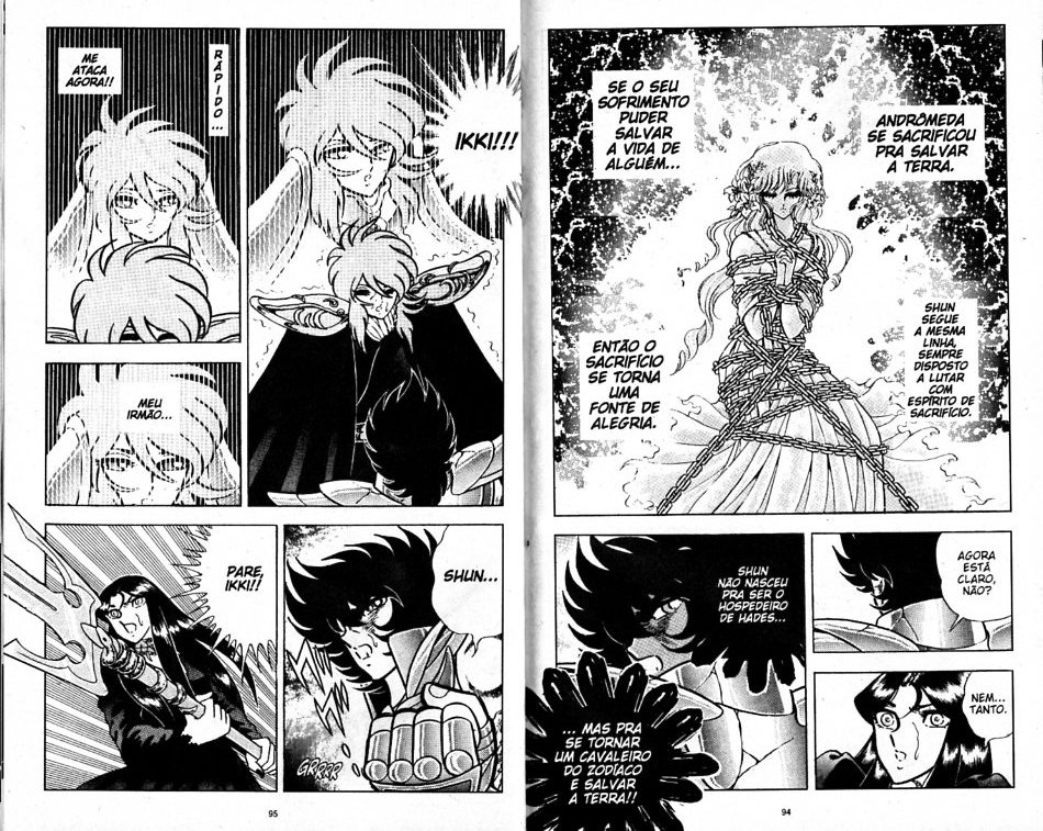 Distorção dos animes: Shun de pacifista forte para afeminado que apanha muito, a mulher  Shun_i15