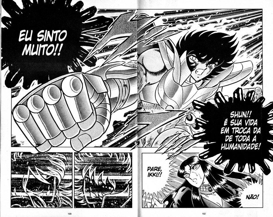 Distorção dos animes: Shun de pacifista forte para afeminado que apanha muito, a mulher  Shun_i17