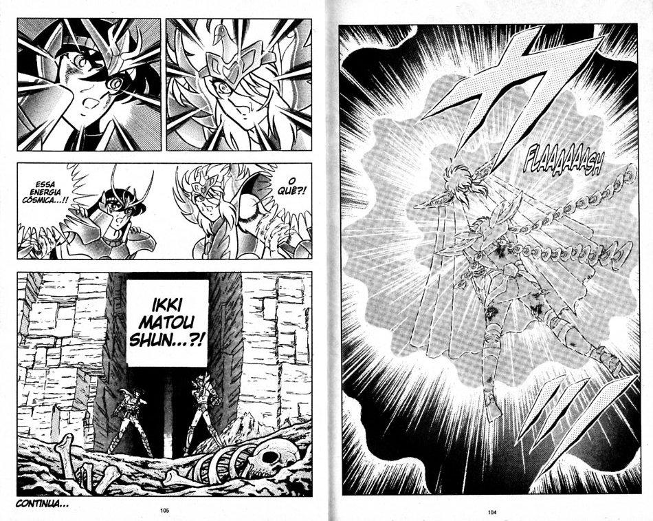 Distorção dos animes: Shun de pacifista forte para afeminado que apanha muito, a mulher  Shun_i18