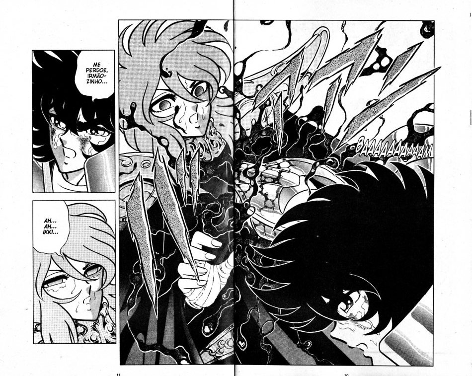Distorção dos animes: Shun de pacifista forte para afeminado que apanha muito, a mulher  Shun_i19
