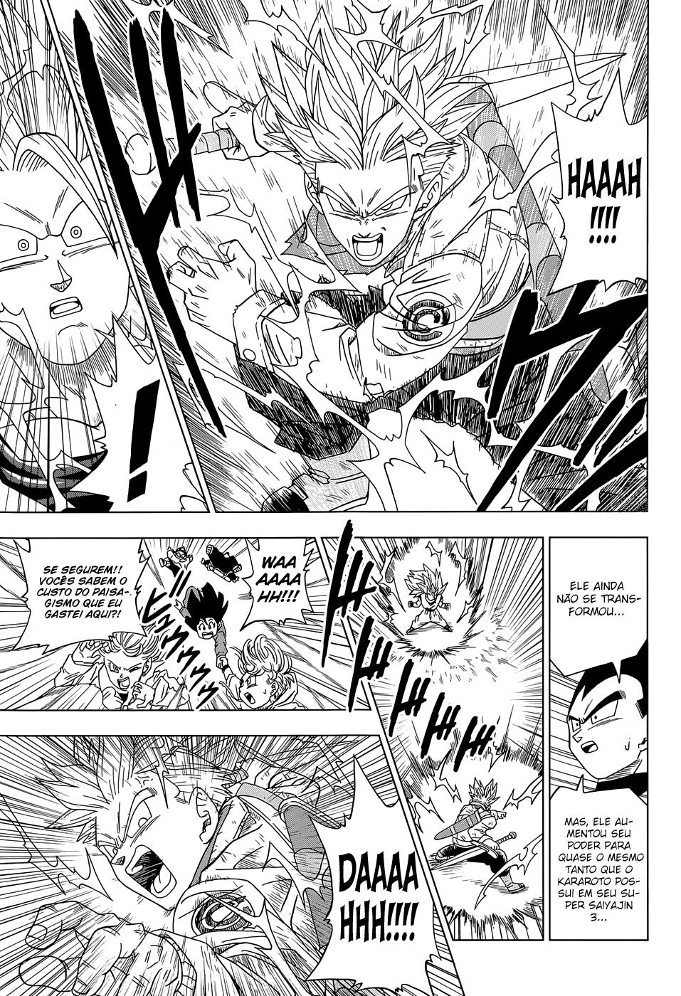 Faz sentido os Fans de Animes Falarem que se Personagem Fraco Vencer Alguém que destrói uma Montanha ele Também destrói uma Montanha? Trunks11