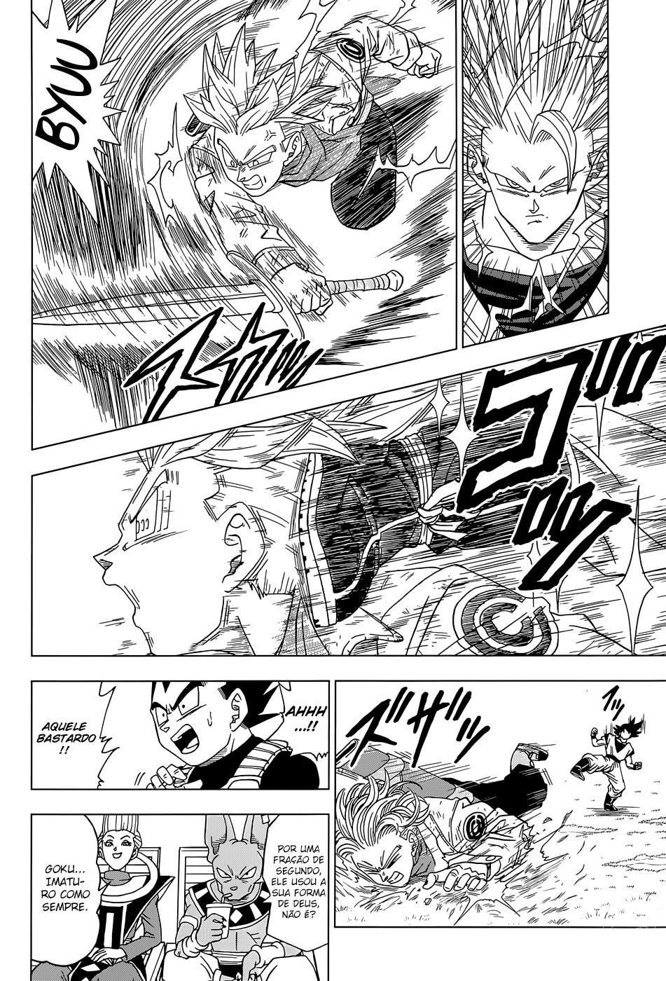 Faz sentido os Fans de Animes Falarem que se Personagem Fraco Vencer Alguém que destrói uma Montanha ele Também destrói uma Montanha? Trunks12