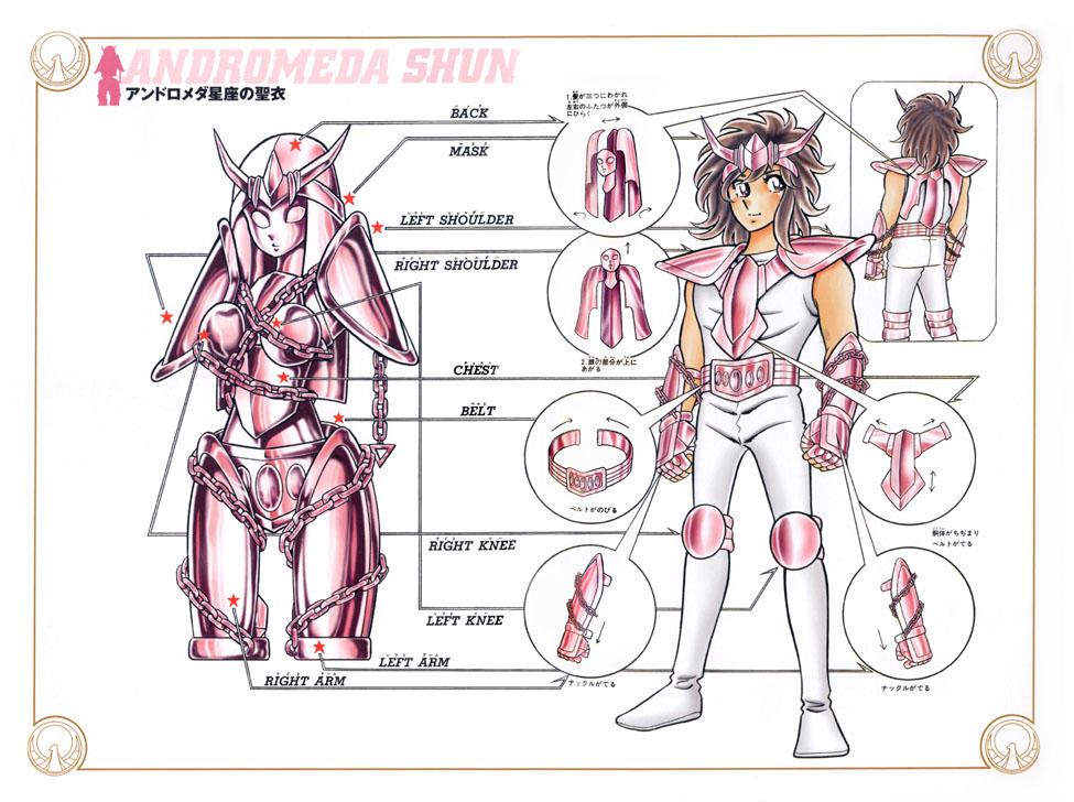 Distorção dos animes: Shun de pacifista forte para afeminado que apanha muito, a mulher  V1_clo10