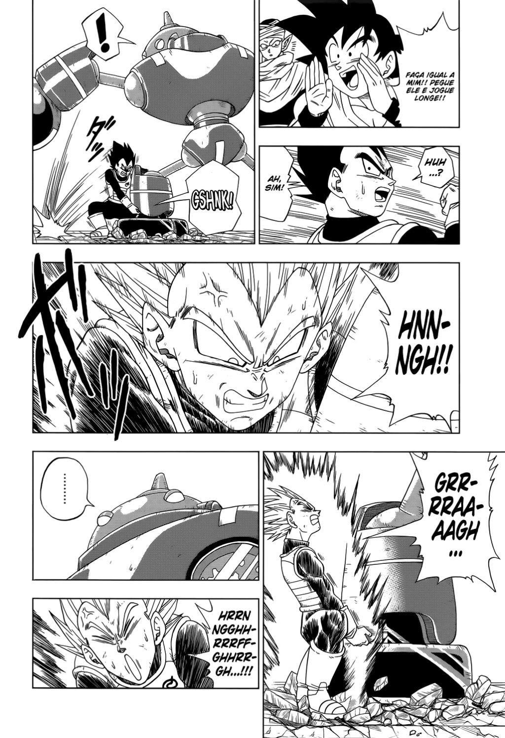 Faz sentido os Fans de Animes Falarem que se Personagem Fraco Vencer Alguém que destrói uma Montanha ele Também destrói uma Montanha? Vegeta10